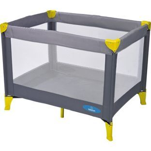 save off a4abe ef450 Buy BabyStart Travel Cot - Grey and Green at Argos.co.uk ...