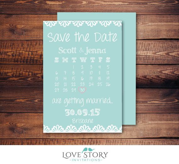 print your own save the date cards