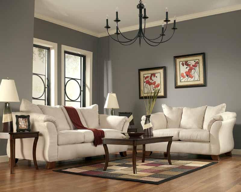 Groovy Durapella Oyster Sofa Set By Signature Design In 2019 Machost Co Dining Chair Design Ideas Machostcouk