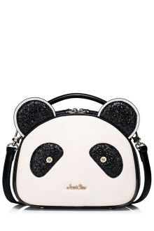 Join Dezzal Get 100 Worth Coupon Giftsequined Panda Shape Tote