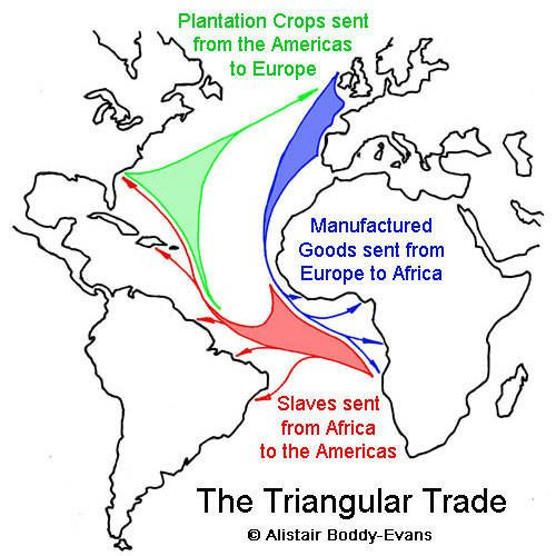 Worksheets Triangular Trade Worksheet this was a trading group called the triangular trade it named because