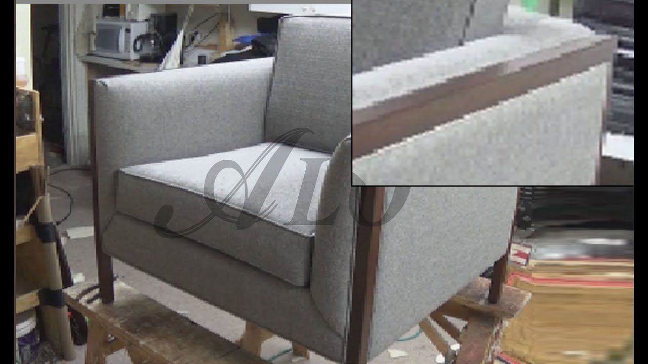 Diy How To Upholster A Chair Alo Upholstery Youtube