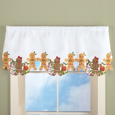 Gingerbread Kitchen Curtains Simple Design Ideas