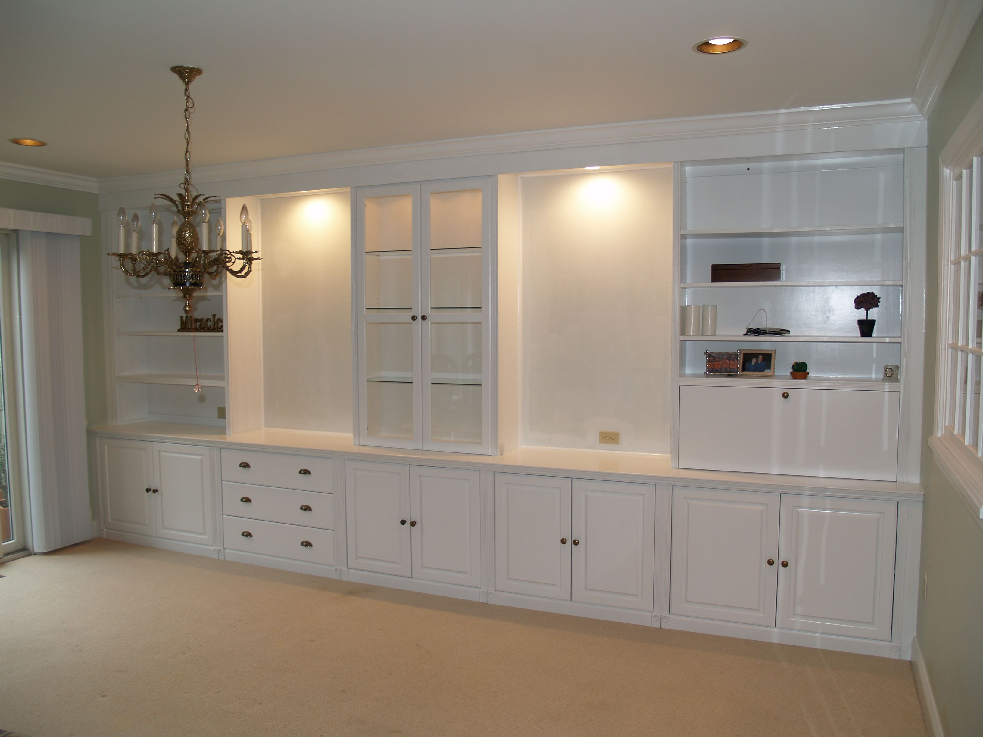 Designed With Functionality In Mind! #bookcases; #solid Wood; #cabinets;