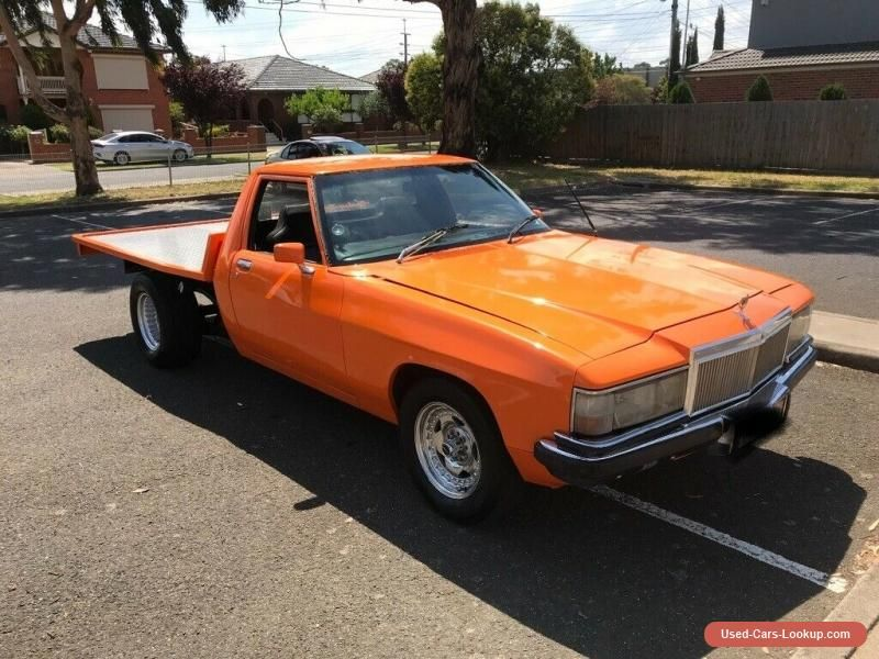 Car For Sale Holden V8 Wb 1 Tonner Ute