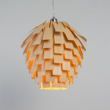 Scots Light Pine Cone Wooden Lamp Shade With Veneer Bent Strips Held By A Birch Wood Frame Painting Lamp Shades Small Lamp Shades Antique Lamp Shades
