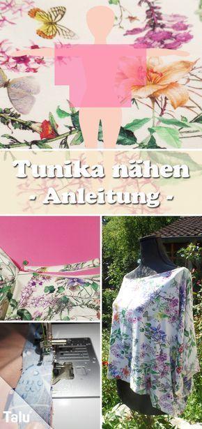 Tunika nähen für Anfänger - DIY-Anleitung + kostenloses ...