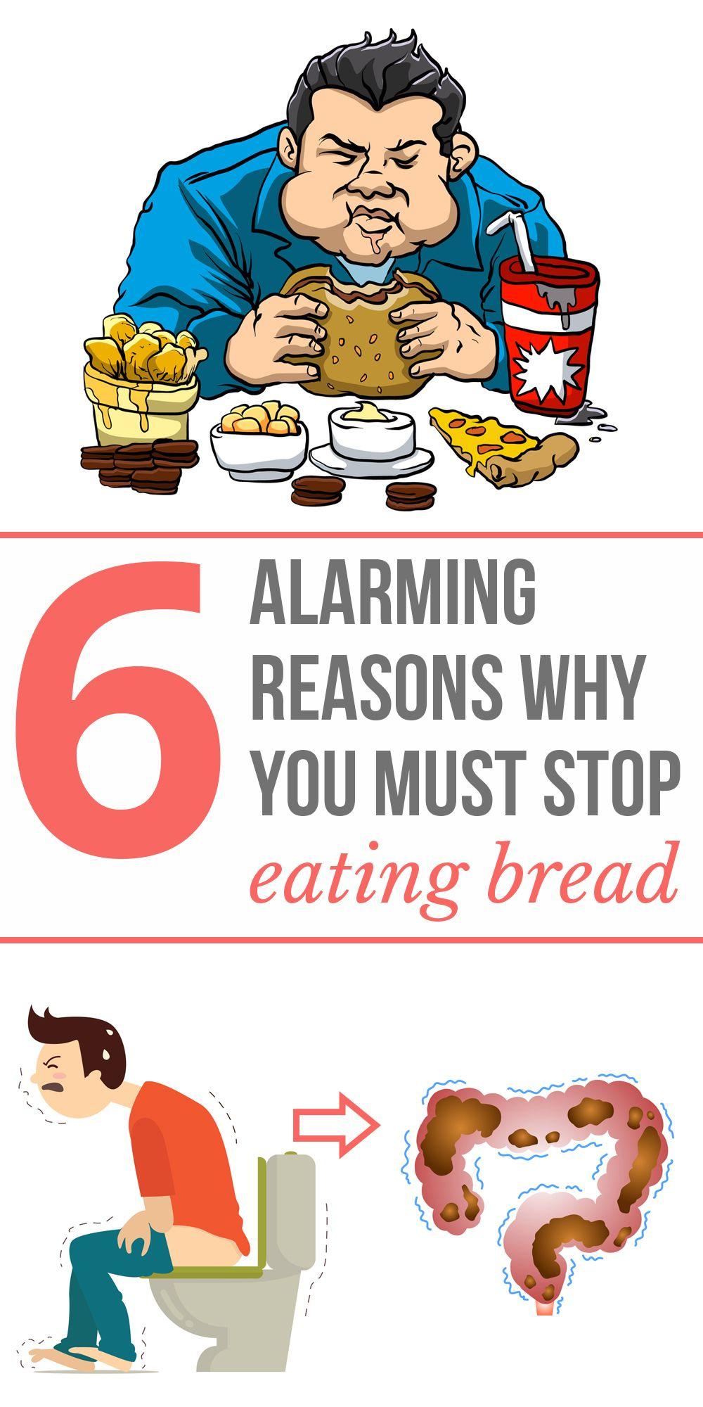 6 Alarming Reasons Why You Should Stop Eating Bread Have Fun