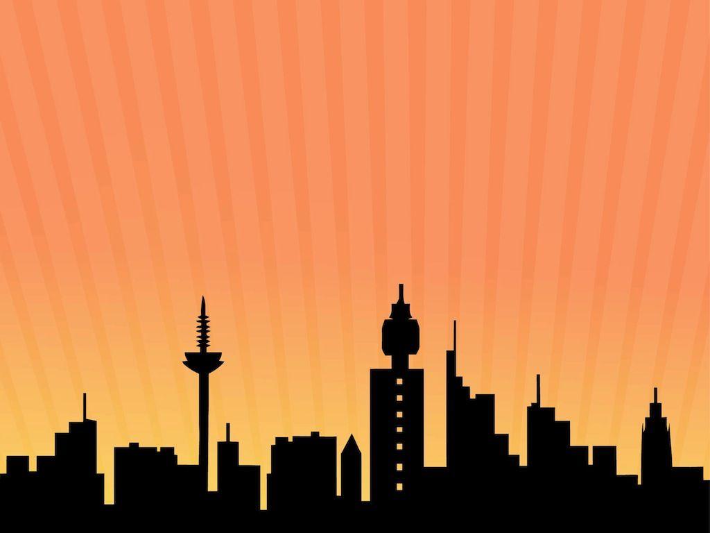 cartoon building skyline frankfurt skyline tattoos. Black Bedroom Furniture Sets. Home Design Ideas