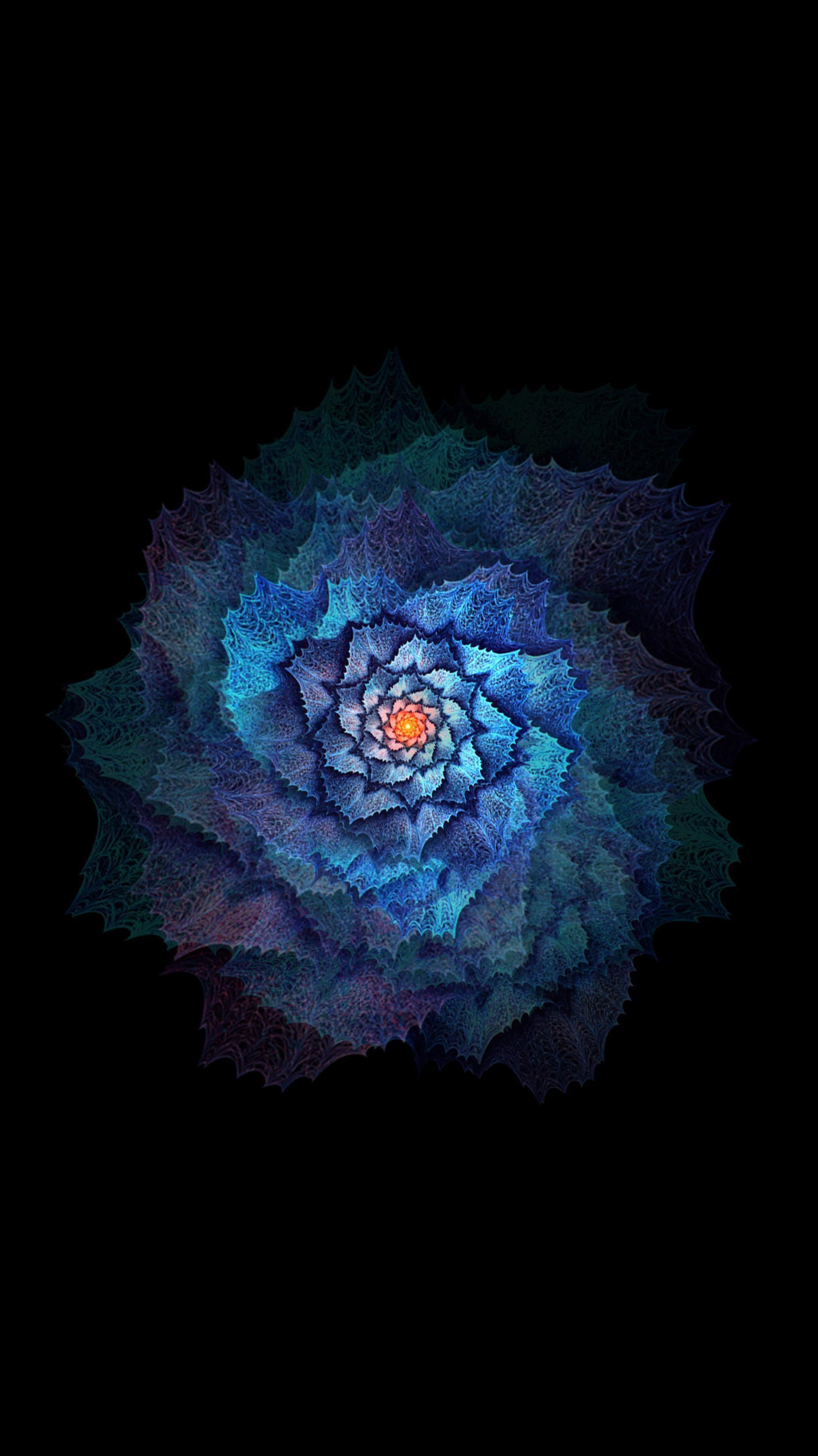 AMOLED Flower Wallpaper