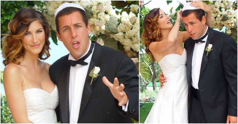 Comedic actor Adam Sandler and the adorable Sandler's family