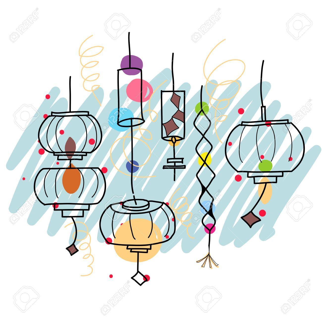 lanterns illustration - Google Search | Lantern ...