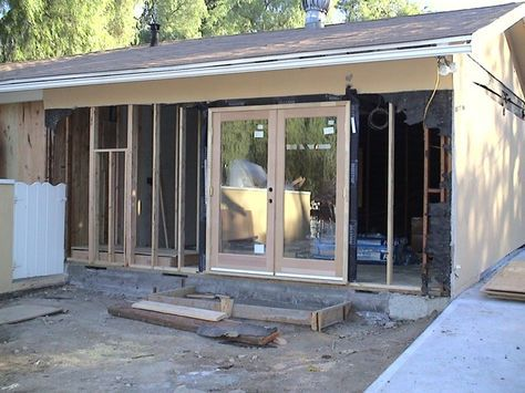 Existing Garage Was Converted To A New Master Bedroom Bathroom Suite Convert Garage To Bedroom Converted Garage Garage Decor