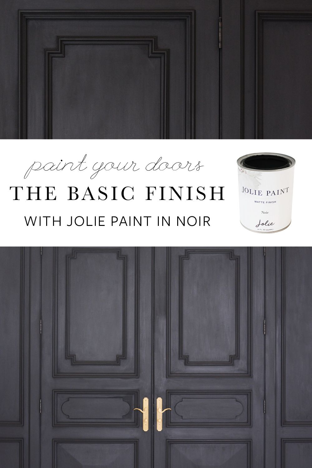 Easily Update Your Front Door By Painting It With The Basic Finish
