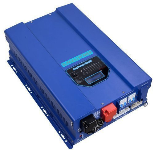 Amazon Com Sungoldpower 10000w Peak 30000w Pure Sine Wave Power Inverter Dc 24v Ac Output 220v 230v 240v Converter With 60a Mppt Solar Charger Controller Ut Dengan Gambar
