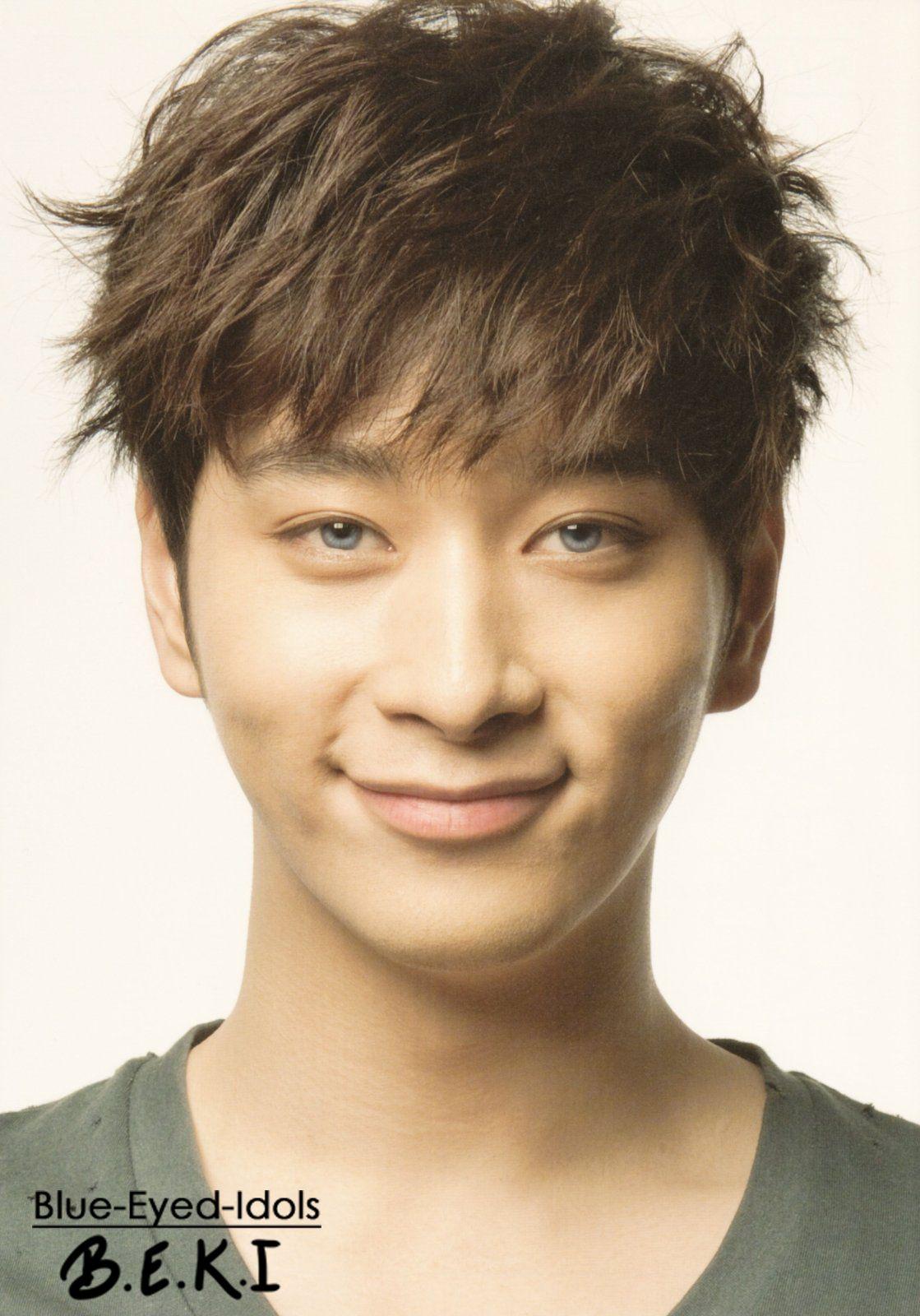 BLUE EYED K-POP IDOLS: #174 Hwang Chansung - 2PM | K-POP ...  BLUE EYED K-POP...