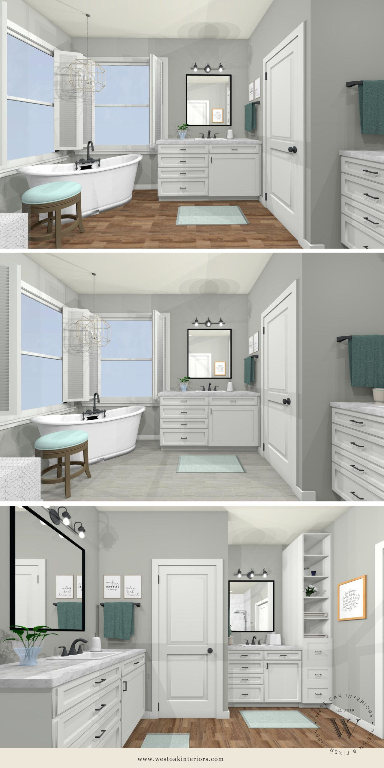 Master Bathroom Renovation Design In