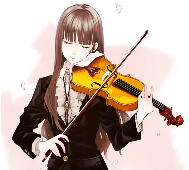 Pin On Anime Violinist