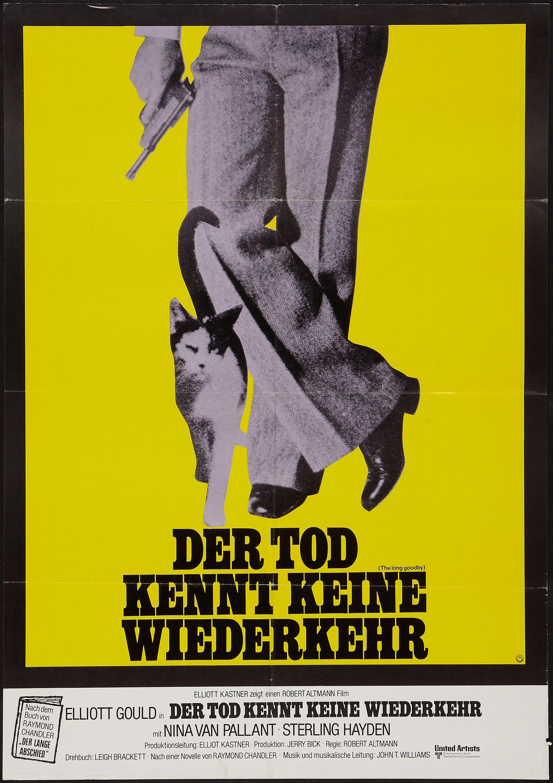 The Long Goodbye Robert Altman 1973 German Design The Long Goodbye Movie Posters Film Posters