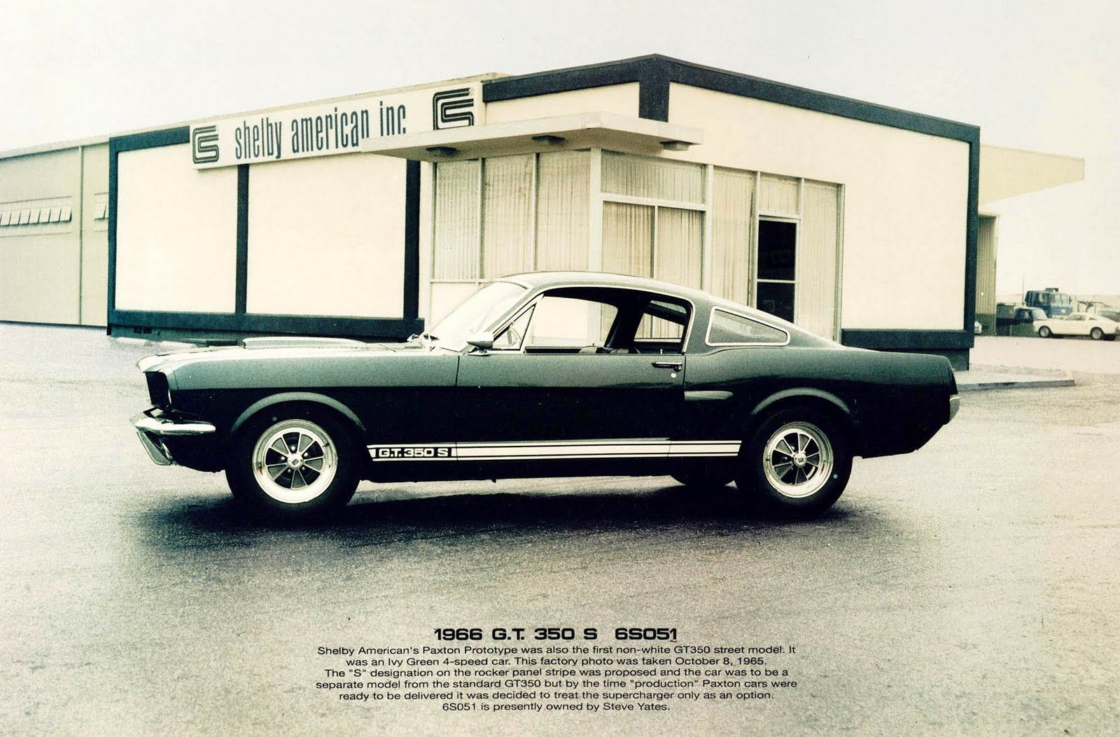 My Dream Car - Mustang Shelby GT350