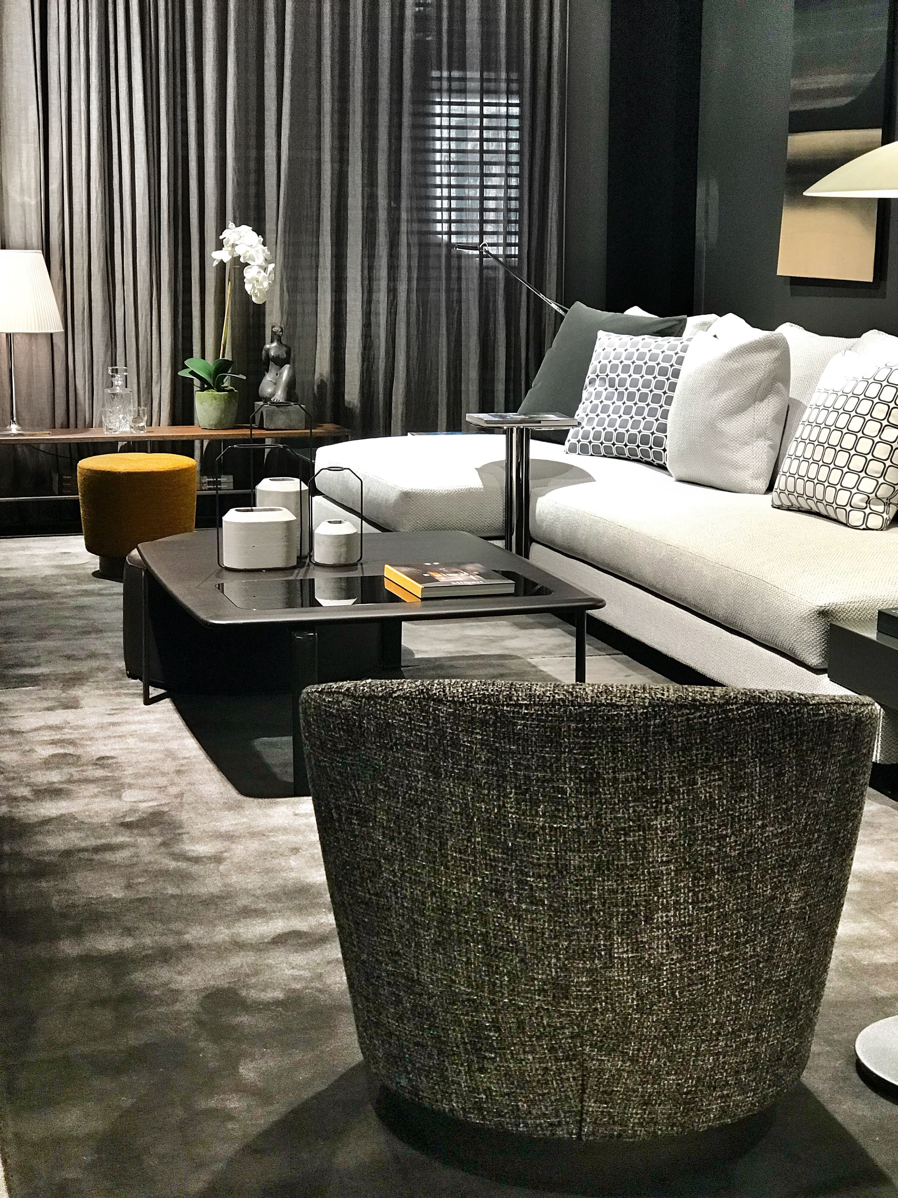 A great and elegant staging with our plain carpet, BEEKMAN at Maison ...