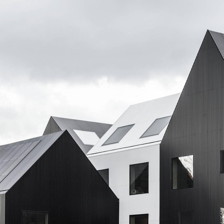 The frederiksvej kindergarten progettato dagli architetti for Case con verande tutt attorno