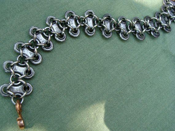 Stainless Rings Biker Mens Bike Chain Steel