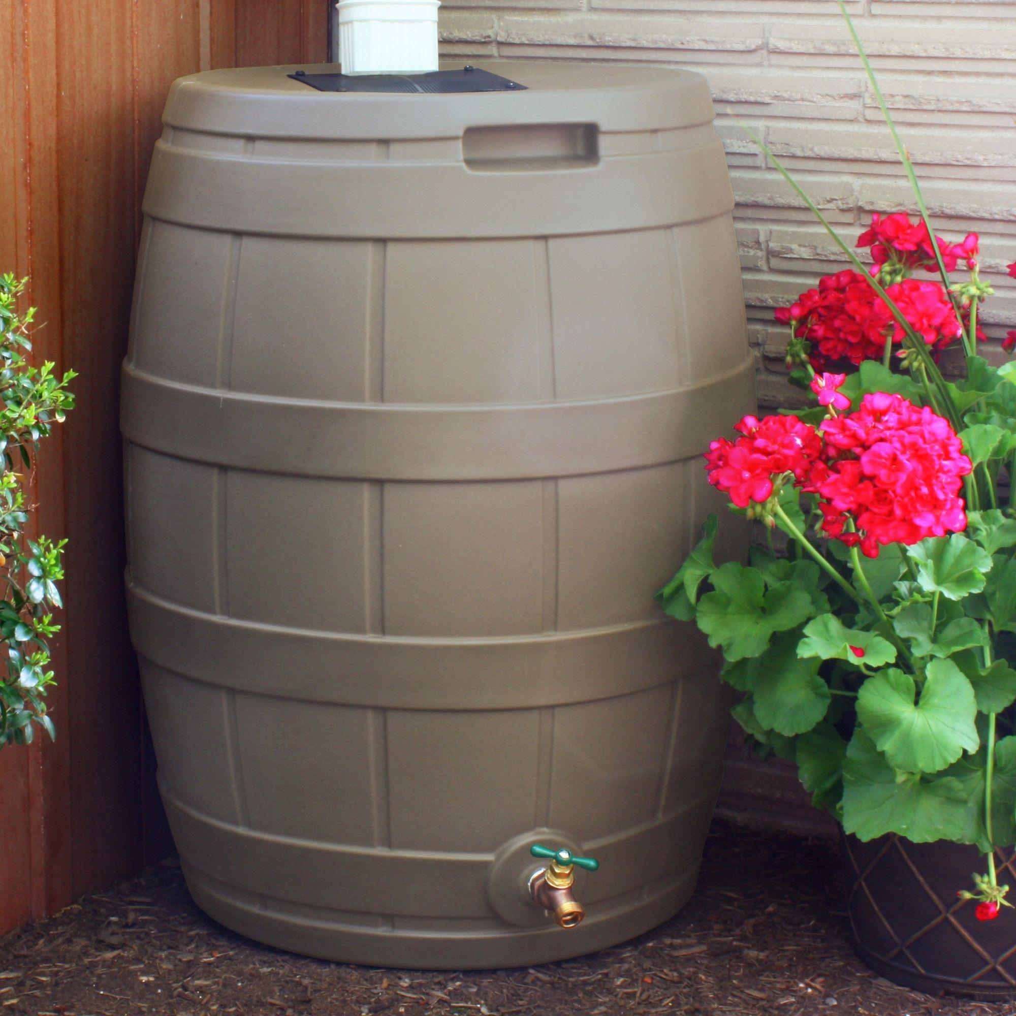 50 Gallon Rain Barrel Rain Barrel Barrel Rain Diverter