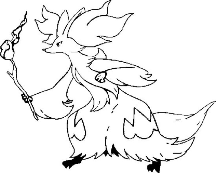 Pokemon Coloring Pages Delphox Pokemon Coloring Pokemon