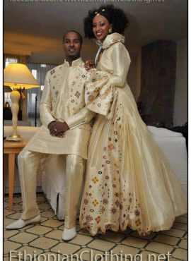 Ethiopian Wedding Dress Designer
