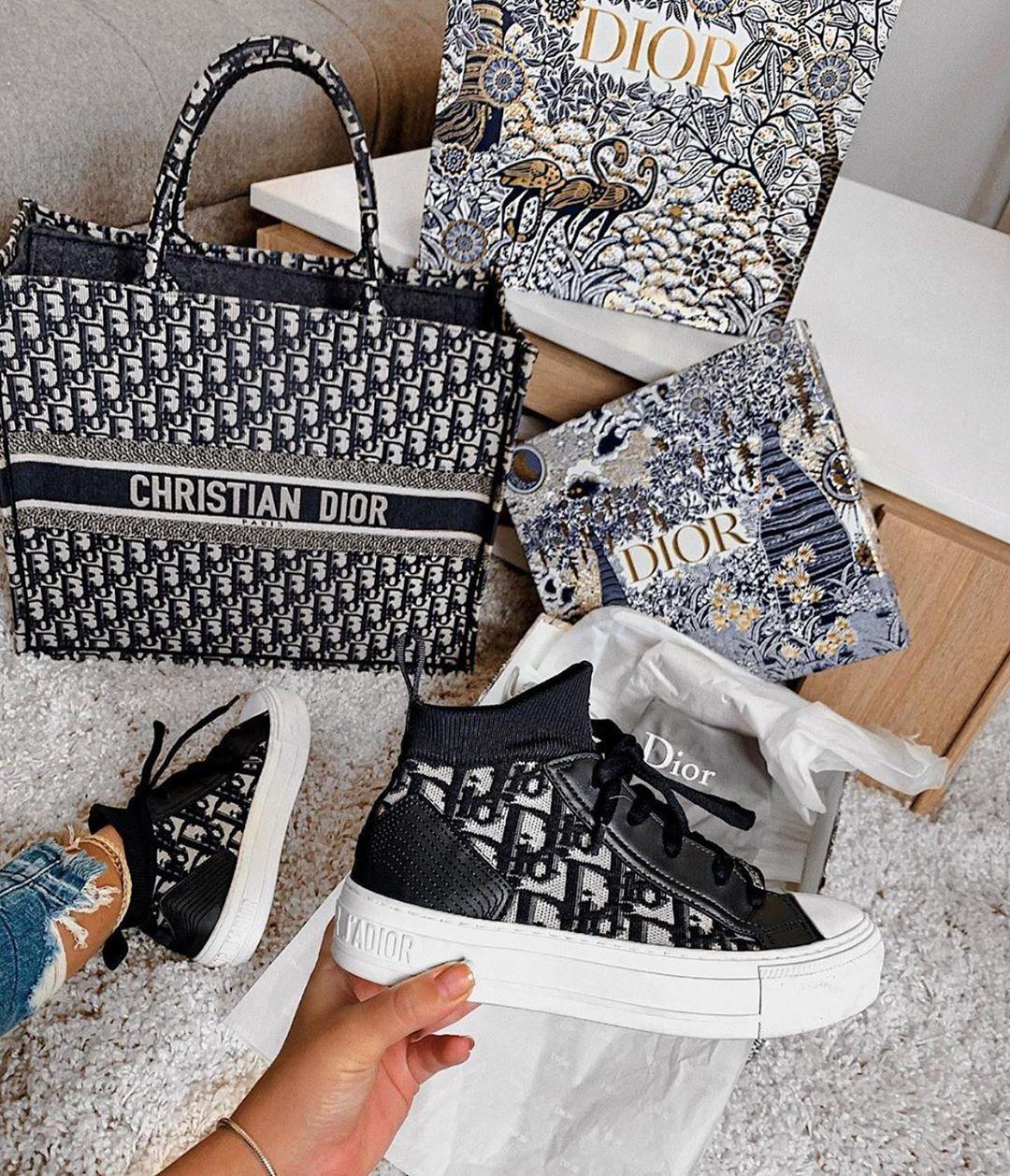 Dior handbags, Dior sneakers, Dior