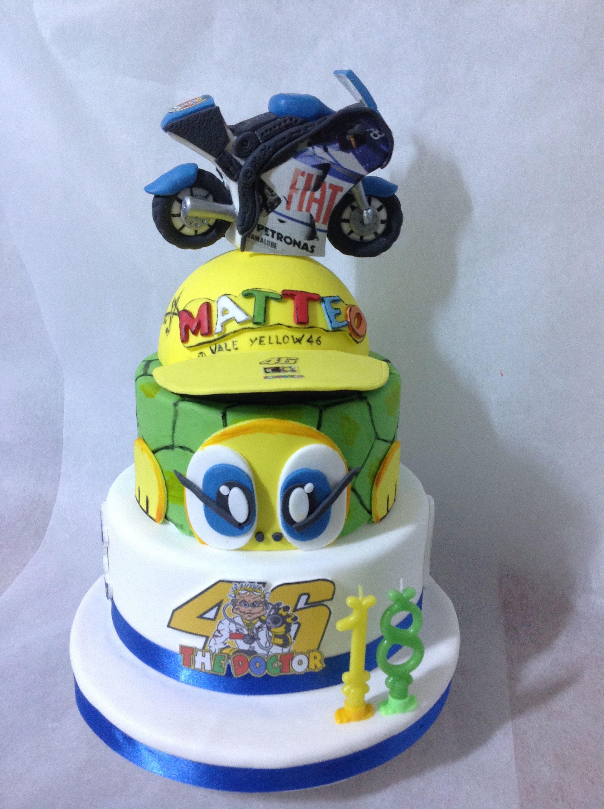 best service 654e4 71f0f Valentino Rossi cake | Cakes nel 2019 | Torte di compleanno ...