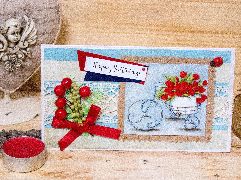 Birthday Card Elegant Luxury Handmade Card Funny Birthday card
