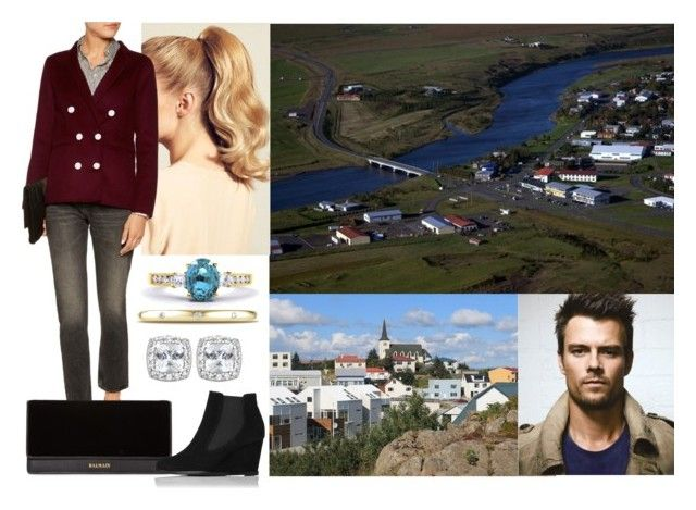 """Tour of Iceland: Day 3- Visiting Hella and Borgarnes with Felix"" by dana-avots ❤ liked on Polyvore featuring Hershesons, Sandro, DIVINA, Balmain and L.K.Bennett"