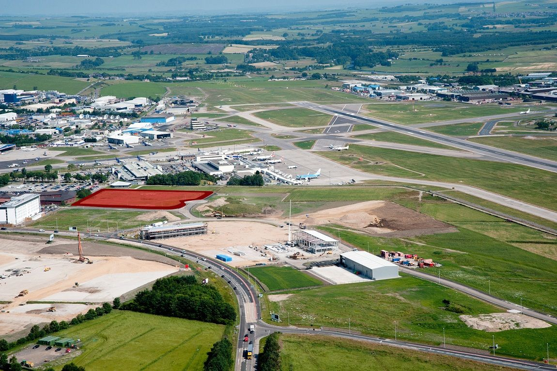 Dominvs Hospitality site, Aberdeen International Airport