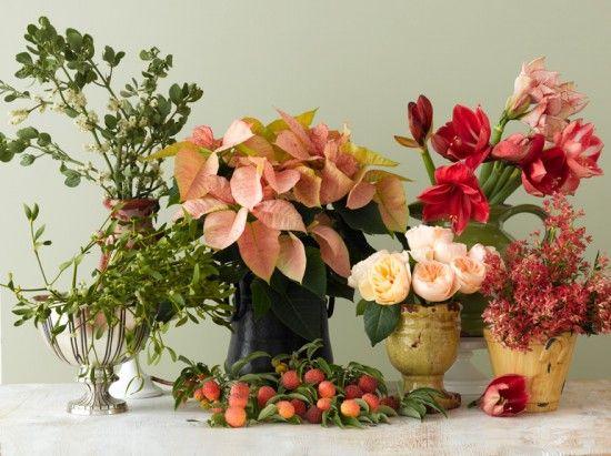 Coco Kelley Holiday Arrangement Holiday Entryway Floral