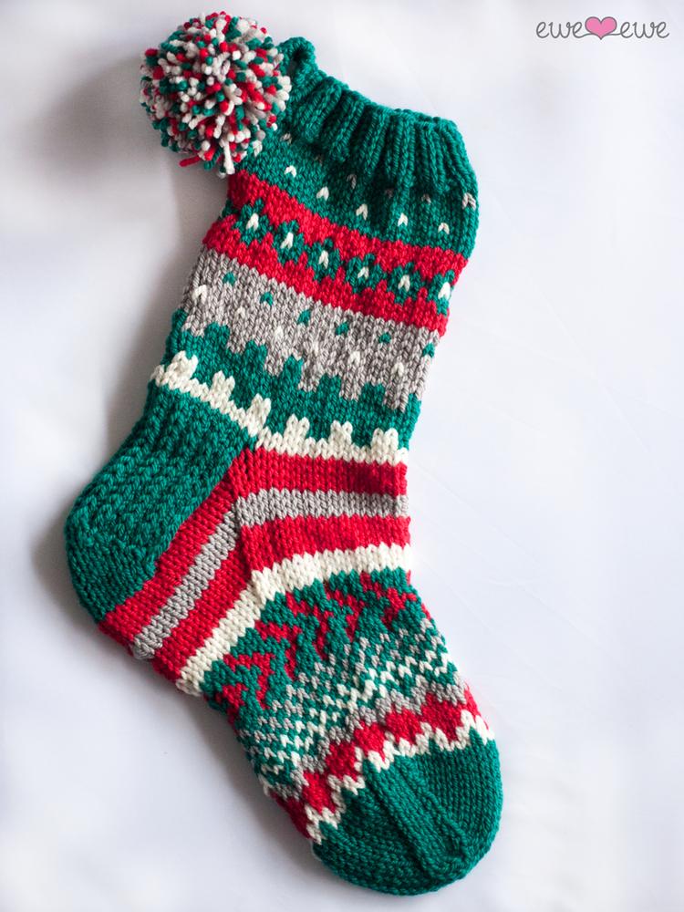 Southwest Stockings Bulky Christmas Stocking Knitting Kit ...