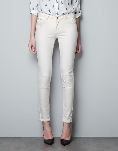 9ea90ba0b8 SUPER STRETCH SKINNY PANTS - Trousers - Woman - ZARA Saudi Arabia ...