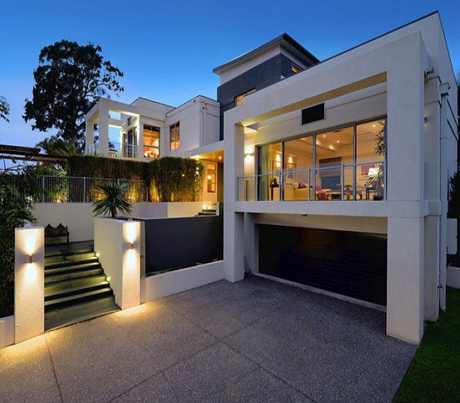 Modern Home Exterior Design Ideas 2017: Best 25+ Modern Houses Ideas On Pinterest