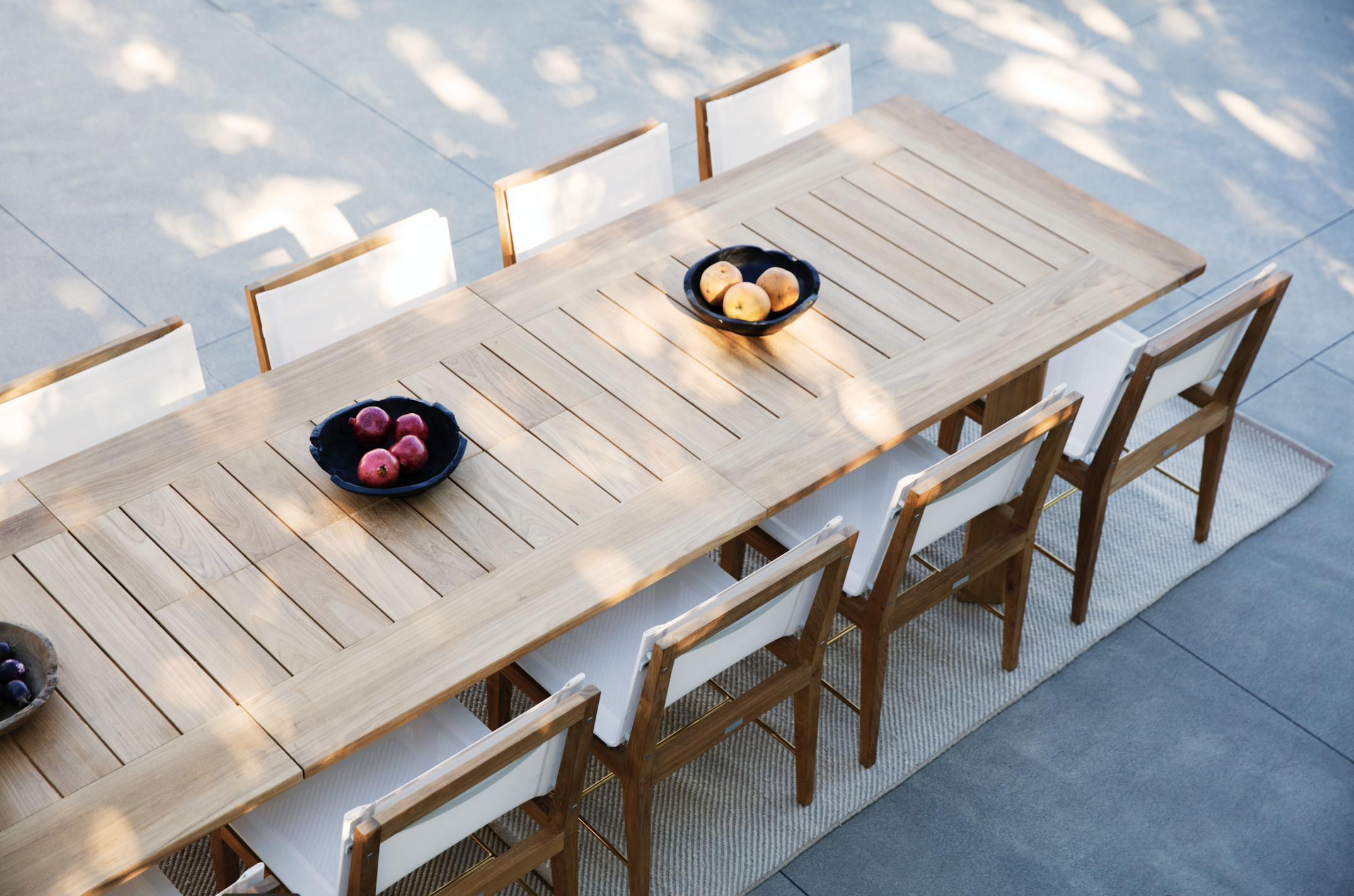 Harbour 1976 Ora Dining Table And Byron Dining Chair Outdoor