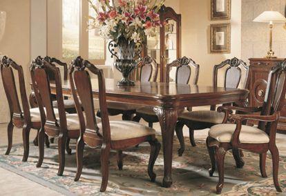 Designer Dining Set For 8 American Drew Bob Mackie In
