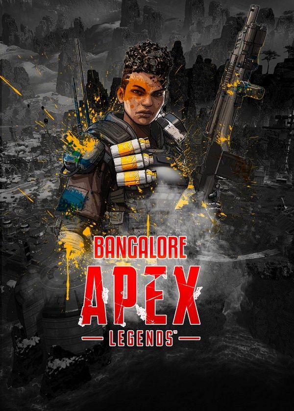 "Apex Legends Splatter Characters Bangalore #Displate explore Pinterest""> #Displate artwork by artist ""Aohiro Art"".… | Displate thumbnail"