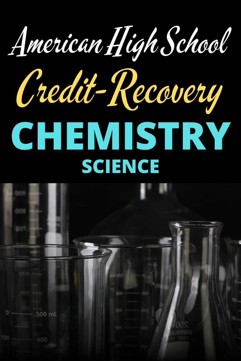 Gain a solid foundation in chemistry and earn credit