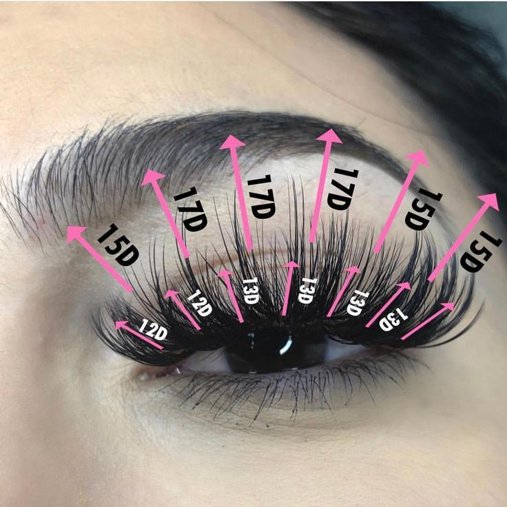 Close up of a in 2020 lash extensions styles eyelashes