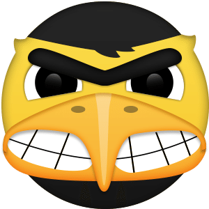Show Your March Madness Spirit With These Mascot Emoji Find Your Favorite Team Save The Emoji To Your Phone An Emoji Iowa Hawkeye Football Ncaa March Madness