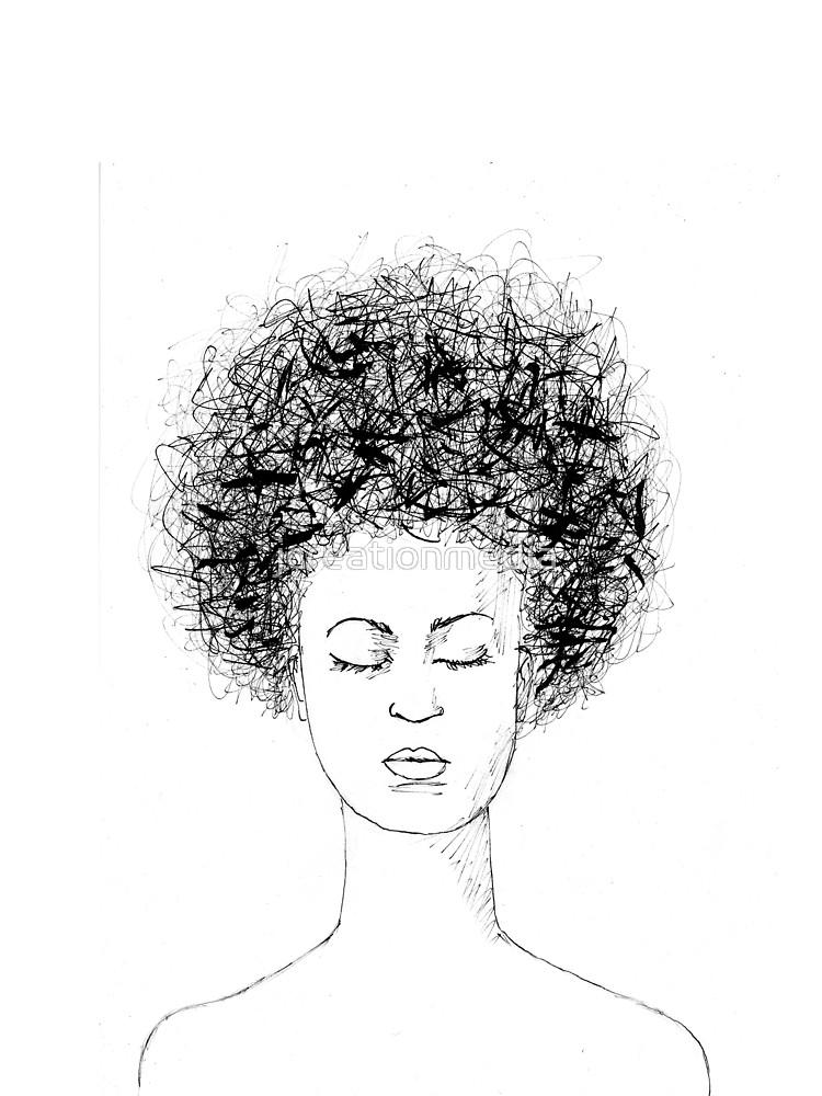 Afro Hair Ink Drawing T Shirt By Jcreationmedia Redbubble Inkdrawing Blackgirlmagic Blackwomensmakeup Blac Boy Hair Drawing Ink Drawing Afro Hairstyles