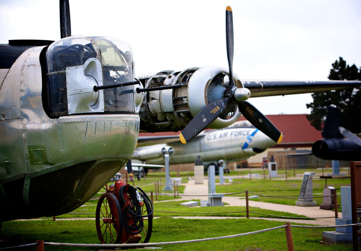 BARKSDALE GLOBAL POWER MUSEUM Vintage aircraft