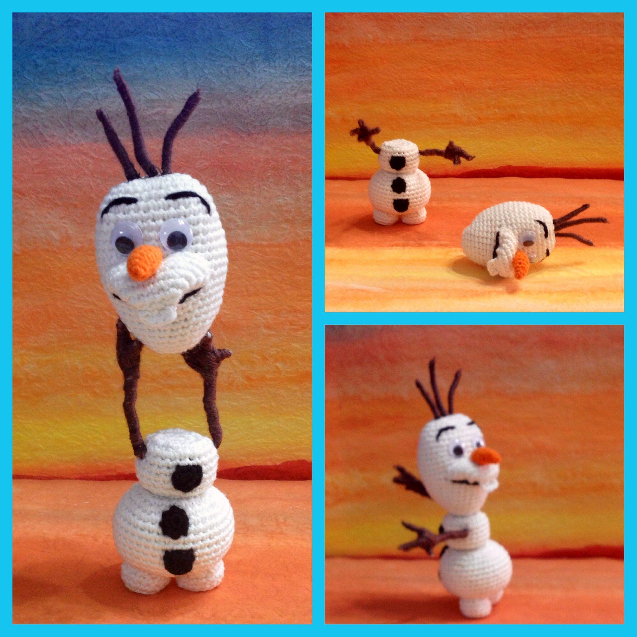 Olaf Of Frozen Amigurumi Pattern Frozen Haken Pinterest Olaf