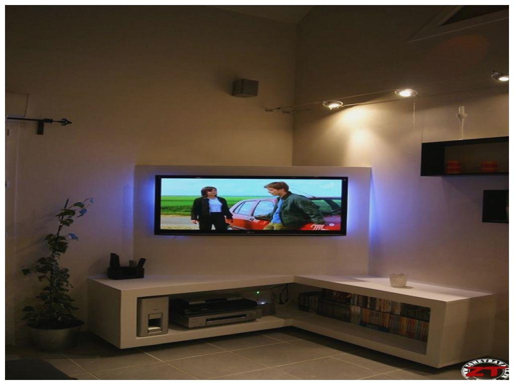 Tuto Création D Un Meuble Tv En Placo Meuble Tv Meuble Tv