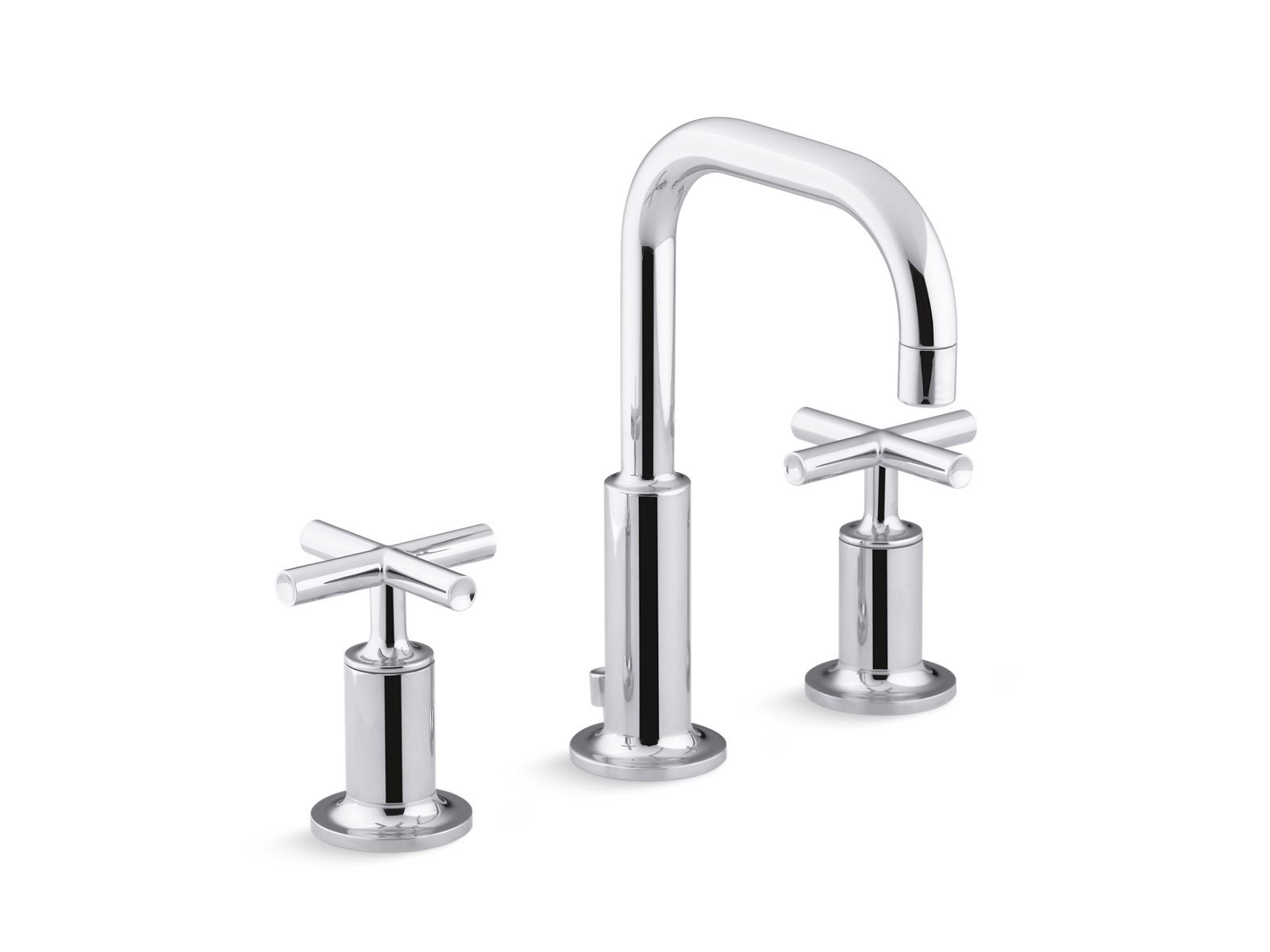 Purist Widespread Sink Faucet With Low Cross Handles K 14406 3 Kohler With Images Sink Faucets Widespread Bathroom Faucet Bathroom Faucets